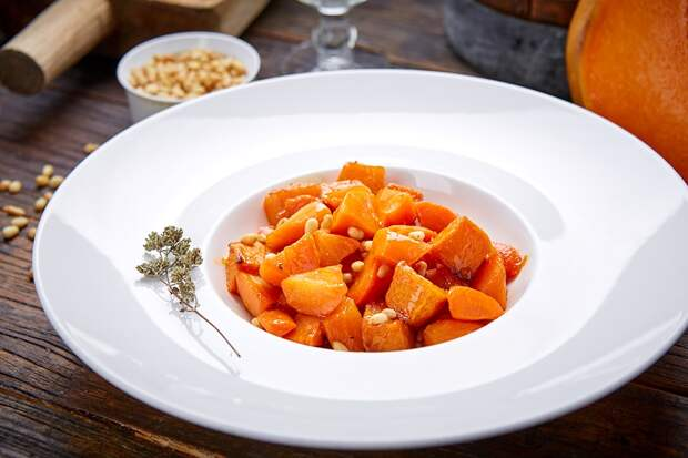 Морковь с кориандром