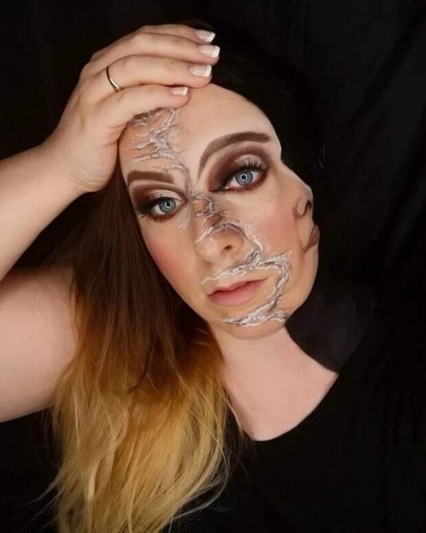 Визажистка Ханна Грейс иееневероятные make-up иллюзии