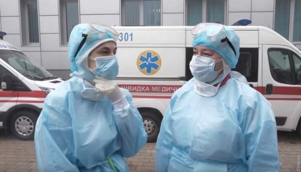 На Украине новый антирекорд COVID-19: впервые более 3 тыс. больных