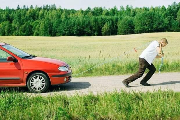 Возможно, авто заглохнет. /Фото: yandex.ru.