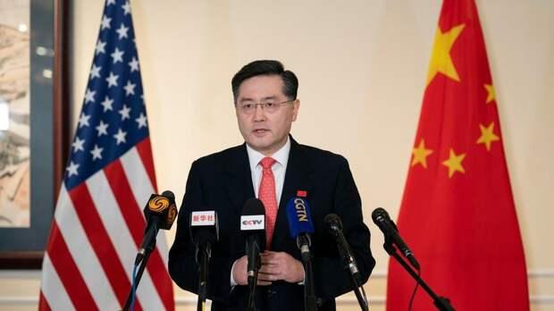 Новый посол КНР в США попросил власти Штатов заткнуться