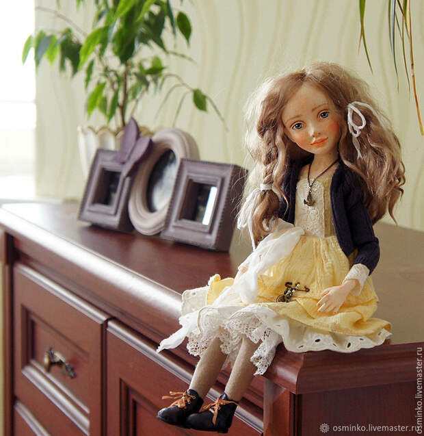 Очаровательные куклы Наталии Осминко