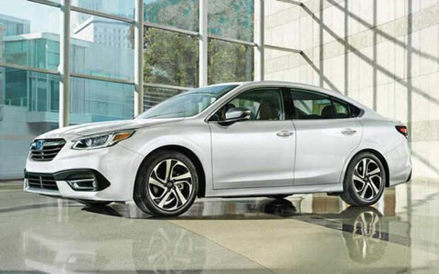 Subaru представила новое поколение Legacy: ждем в России