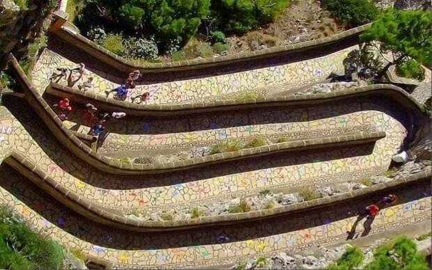 Виа Крупп: самая красивая панорамная дорога Капри!