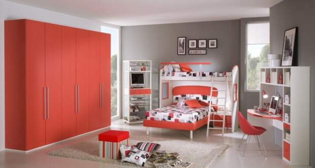 50 дизайнов детских комнат. Универсальные варианты