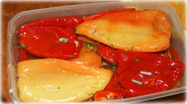 Вкусный маринованный сладкий перец. Рецепт закуски, который понравится всем!