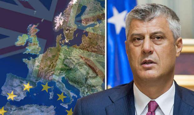 Косово пригрозило объединением с Албанией в случае непризнания Евросоюзом