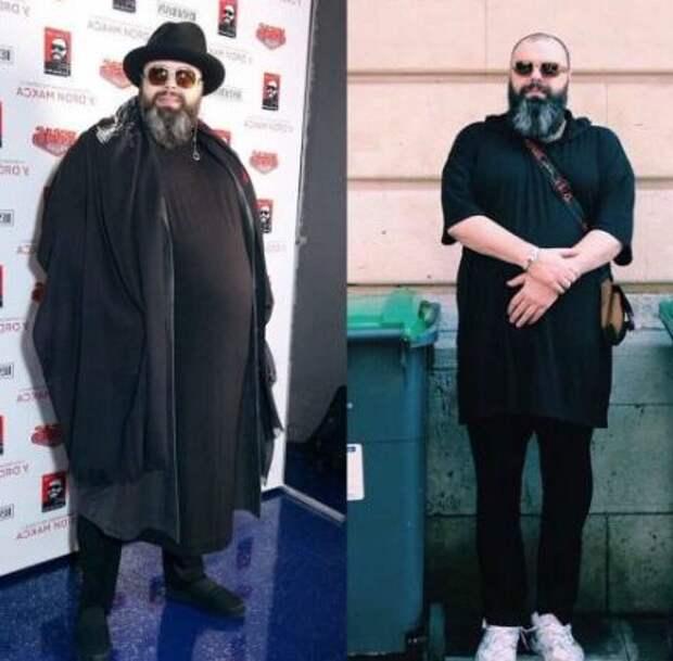 Фадеев похудел на 100 кг. Вот фото до и после