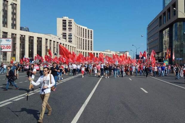 Митинги из-за пенсий народ не собирают. Почему?