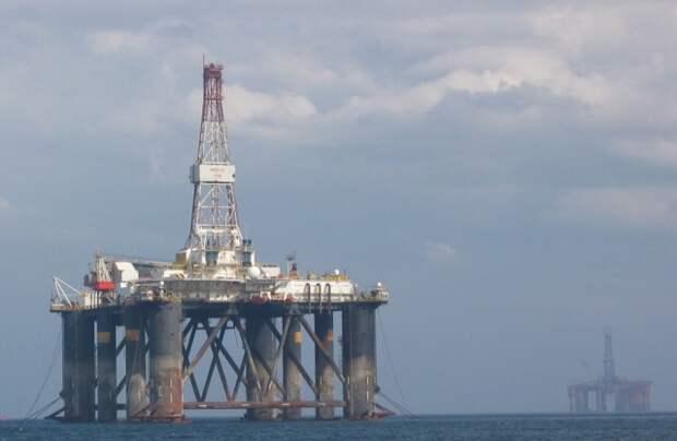 UKCS Северное море шельф