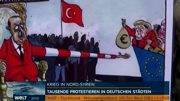 Welt: курды и турки схлестнулись на улицах Германии