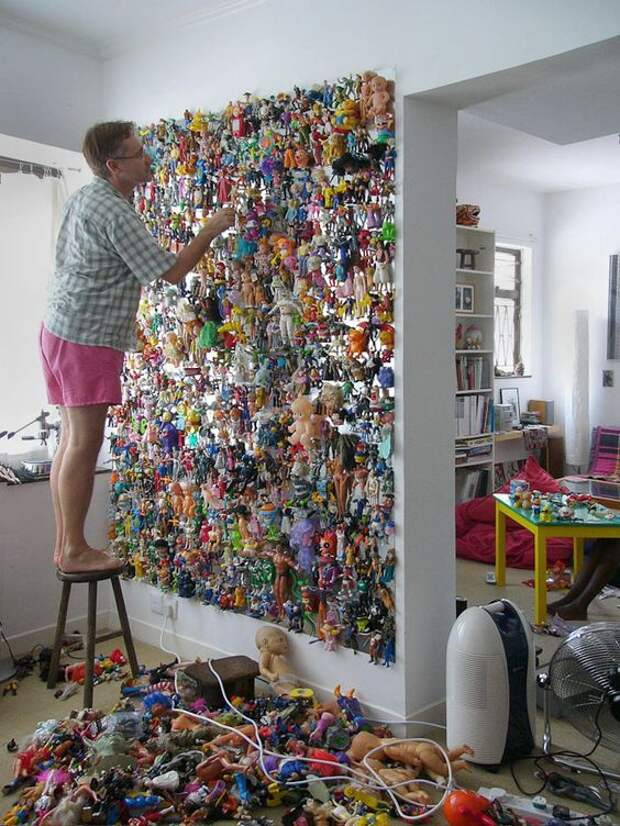 Креативная стена в детскую
