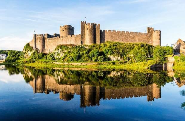 Крупнейший частный замок Уэльса