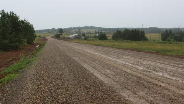 Автотрассу Старая Гыя – Медьма восстановили в Кезском районе Удмуртии