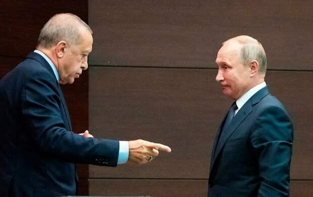 Эрдоган просит помощи у Путина, так как Запад его «кинул». В этот раз придется согласиться со всеми условиями