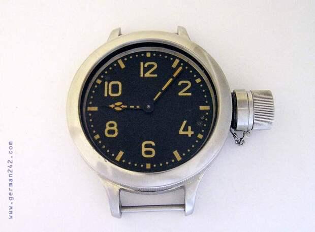 Радиоактивные водолазные часы