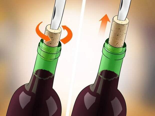 Как открыть бутылку вина без штопора? 10 простых способов