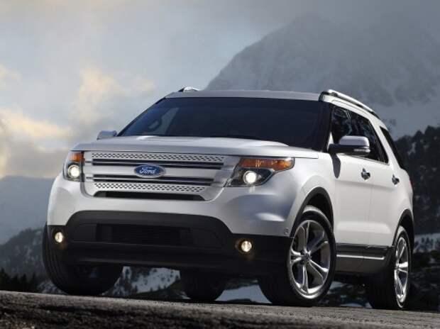 На тесты выехал обновленный Ford Explorer