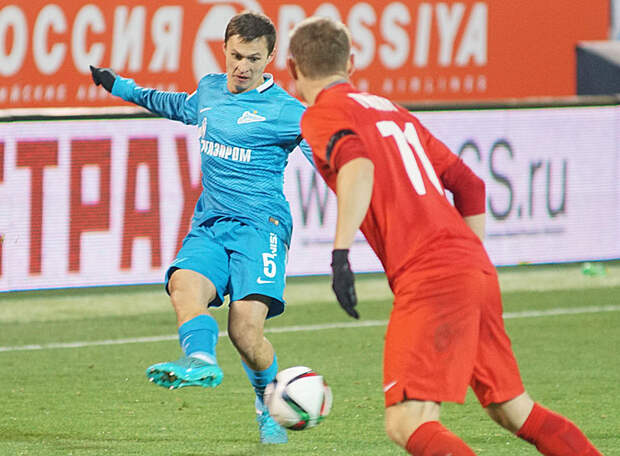 Экс-полузащитник «Зенита» в четвертый раз попал в символическую сборную тура ФНЛ