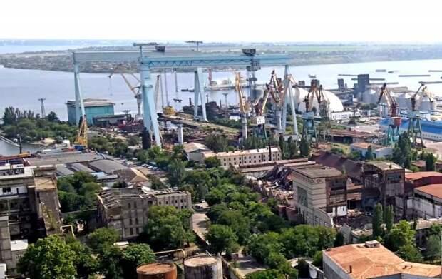 Украина лишилась ещё одного завода-гиганта: полностью уничтожен Черноморский судостроительный завод