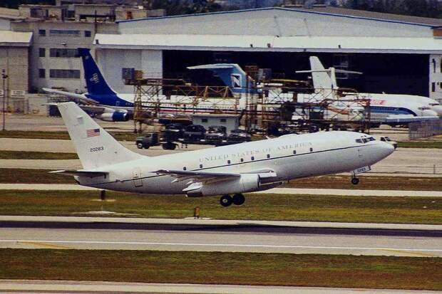 Boeing CT-43A ВВС США, идентичный разбившемуся