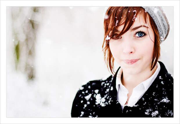 Как победить зимнюю тоску: 10 советов, девушка, снег
