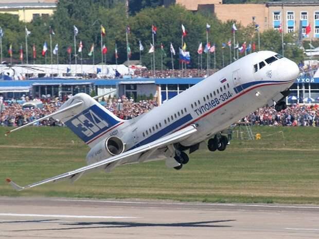 Два первых Ту-334 продадут в 2013 году