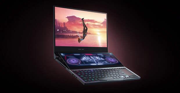 Asus ROG Zephyrus Duo 15: самое топовое «железо», два экрана, каждый из которых регулируется по углу наклона, и цена от 254 000 рублей