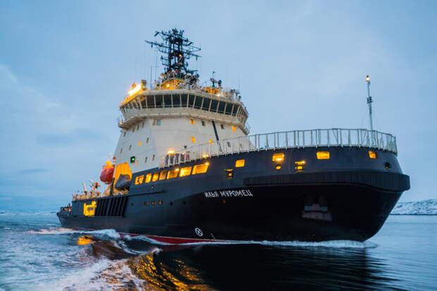 NI: Ледоколы обеспечивают преимущество РФ в Арктике