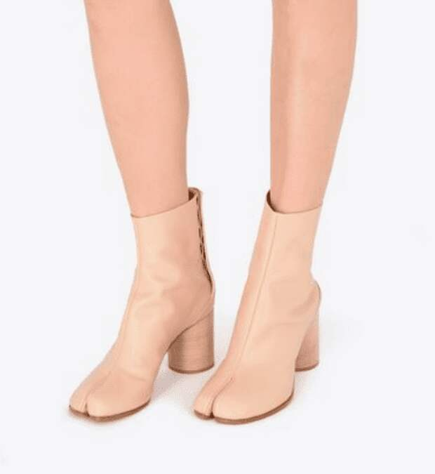 Обувь с разделённым большим пальцем — модный тренд или ещё одна шутка дизайнеров?
