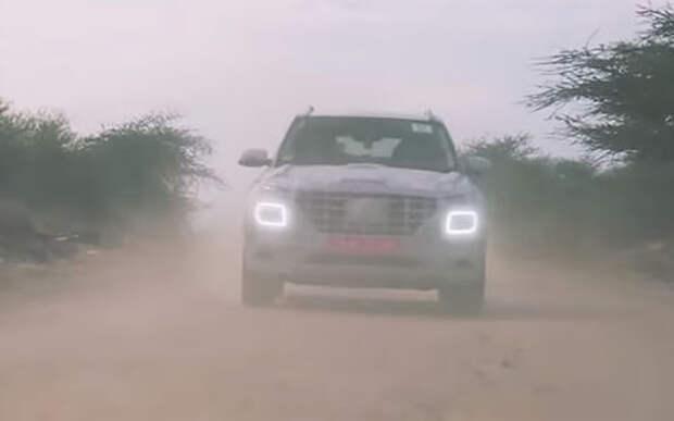 Самый маленький кроссовер Hyundai показали на видео