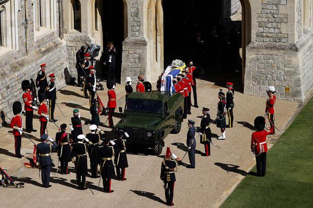 Как прошли похороны принца Филиппа