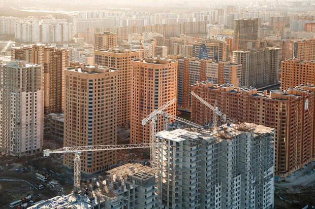 Новая Москва. Застройка