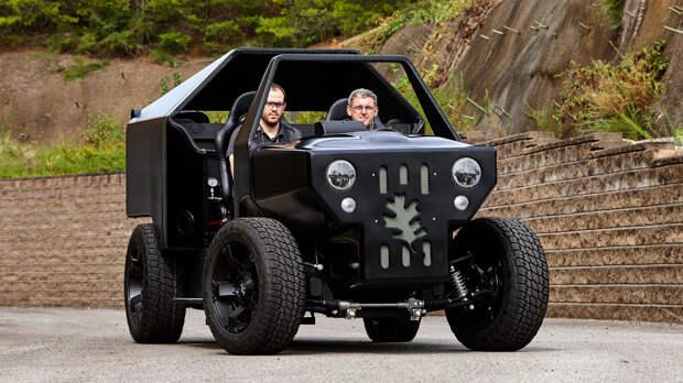 10 автомобилей, напечатанных на 3D принтере