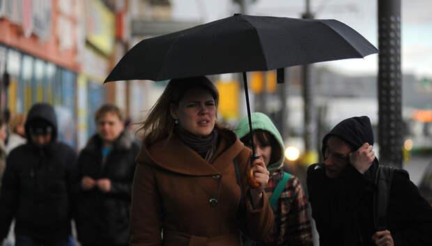 Небольшой дождь и до плюс 10 градусов ожидается в Подольске в субботу