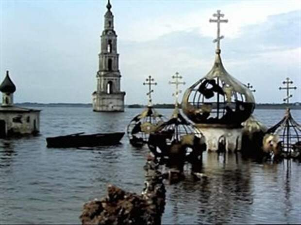 Древнерусские города, которые намеренно затопили