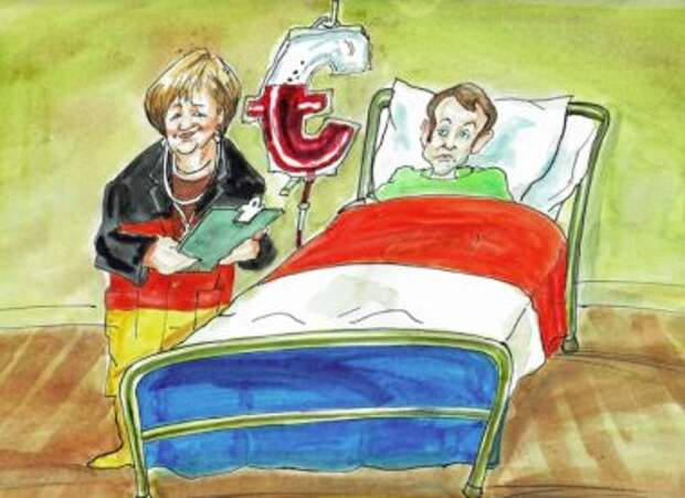 Германия заплатит за Францию
