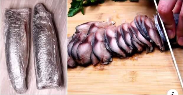 Простой и очень вкусный рецепт скумбрии: съедается сразу же