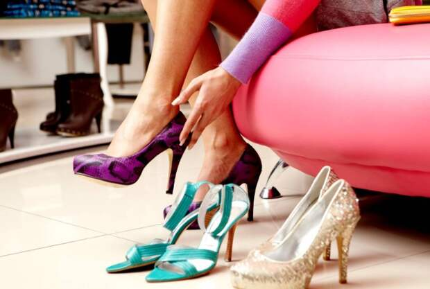 В магазине не всегда получается удачно подобрать обувь