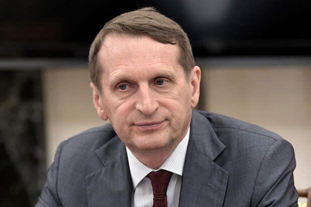Нарышкин ответил на обвинения Запада в отравлении Навального «Новичком»