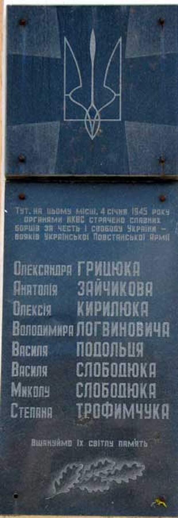 Зал УПА