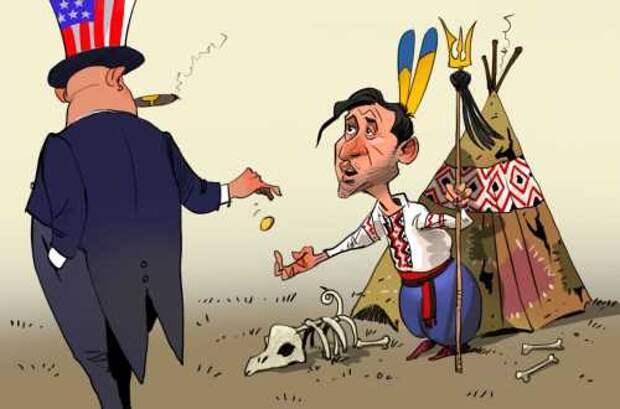 Привет Украине от американских хозяев