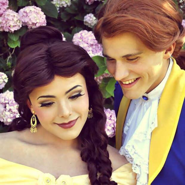 Под образами этих диснеевских принцесс скрывается… парень, который умеет краситься