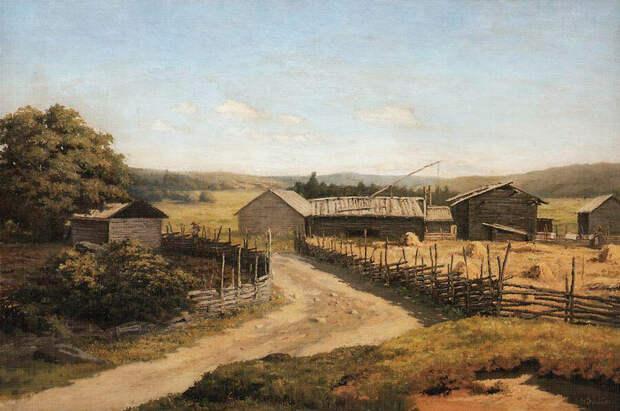 Николай Никанорович Дубовской. Летний день, 1890