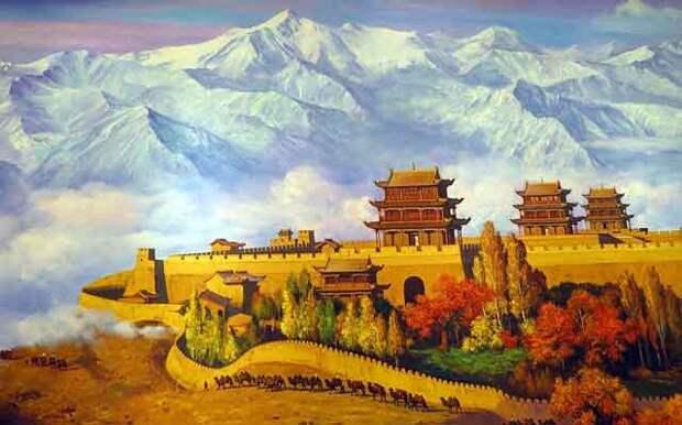 Тахары - белая цивилизация Китая