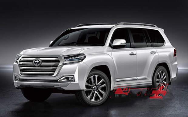 Toyota Land Cruiser лишится двигателя V8 и станет гибридом
