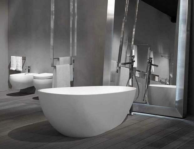 Ванны. Отклонения от традиционной формы