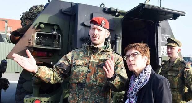 Министр обороны ФРГ