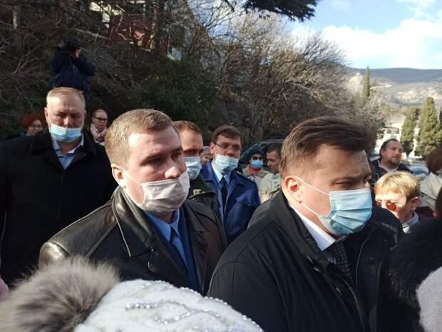Глава Крыма снова встретится с жителями Фороса 5 марта