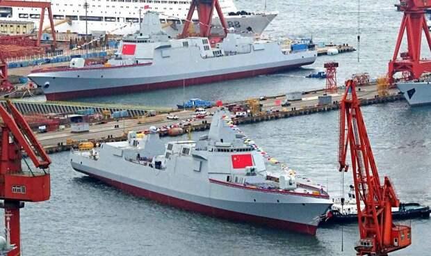 Почему Китай не строит боевые корабли для российского ВМФ